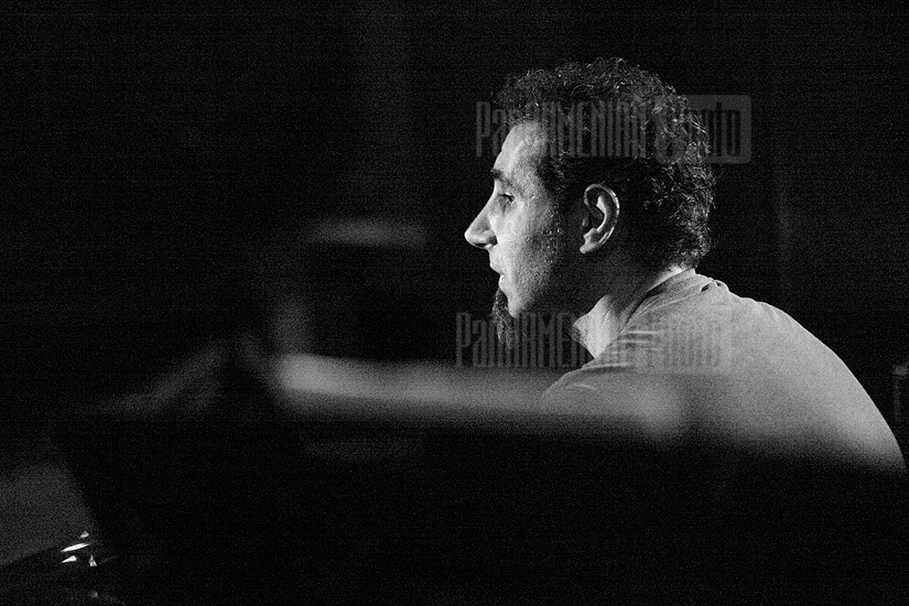 Backstage with Serj Tankian