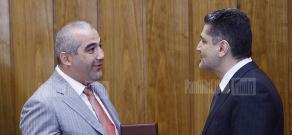 Վարչապետը պարգեվատրել է հայ գործարարներին