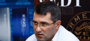 Press conference of Heritage party MP Armen Martirosyan