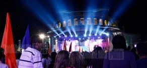 Concert dedicated to closing of 5th Pan-Armenian games