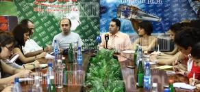 Press-conference of Atom Mkhitaryan and Samvel Martirosyan