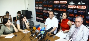 Press-conference of Mkrtich Minasyan (RPA) and Arman Melikyan, NKR Former Foreign Minister