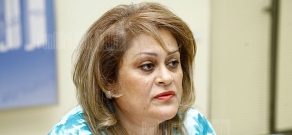 Press conference of the head of Education department at Yerevan municipality Gayane Soghomonyan
