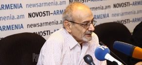 Press conference of Head of the Union of Consumers NGO Armen Poghosyan