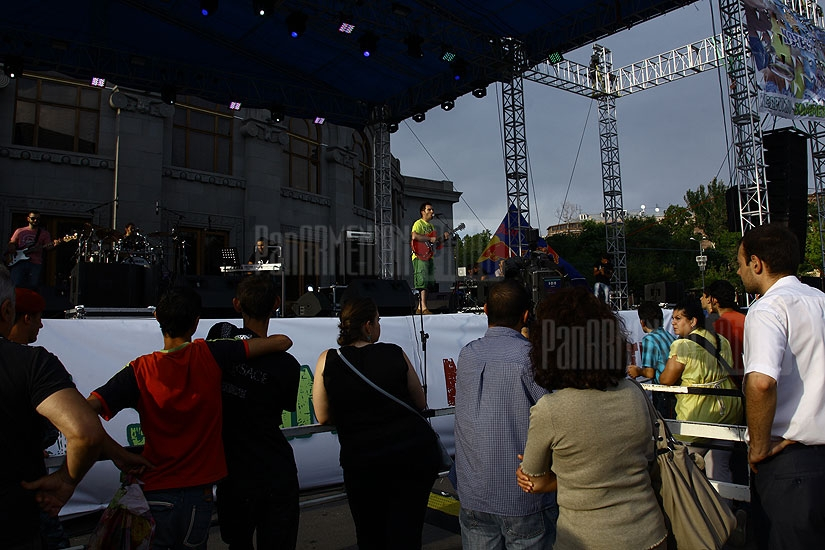 The first concert of Yerevan Summer Music Festival