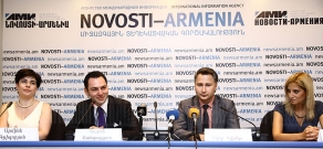 Press conference dedicated to the launch of youth educational programs implemented by by