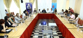 Round table discussion organized by Armenian Marketing Association and