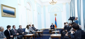RA President Serzh Sargsyan receives Lithuanian Ministry of Education and Science delegation