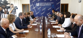 Joint session of RA Ministry of Economy and NKR Ministry of Economic Development