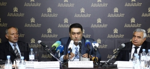 Press conference of Yerevan Brandy Company