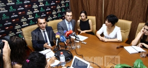 Press-conference of Victor Yengibaryan and Diogo Pinto