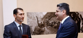PM Tigran Sargsyan awards outstanding representatives of different areas by Prime Minister's medals