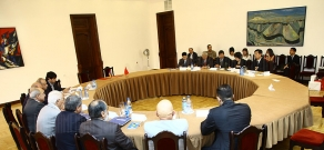 Armenian Public Council and the China Economic and Social Council sign an agreeement