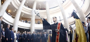 Official opening ceremony of Matenadaran's new building