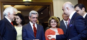 RA President Serzh Sargsyan visits All-Armenian Jewelers' exhibition
