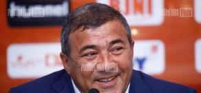 Press conference of Armenian Football Federation President Ruben Hayrapetyan
