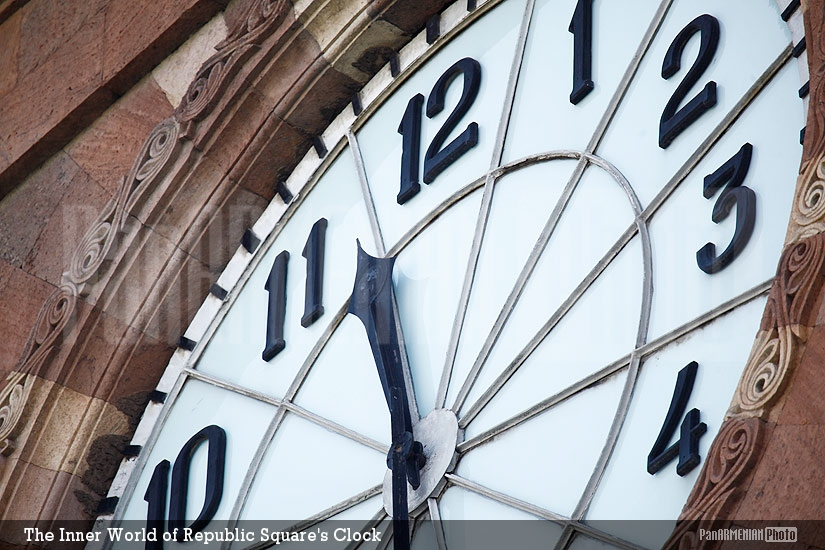 The Inner World of Republic Square's Clock