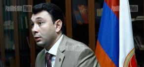 Press conference of the Press Secretary of RPA Eduard Sharmazanov