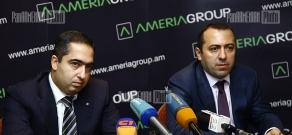 Press conference of Ameriabank's representatives