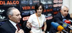 Press conference of Prosperous Armenia MP Vardan Bostanjyan and ANC representative Grigor Harutyunyan