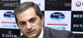 Press conference of the Head of Contract Management and Legal Affairs of Yerevan Water Company Artak Malkhasyan