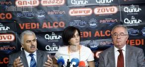 Press conference of Mkrtich Minasyan (RPA) and Petros Makeyan (ANC)