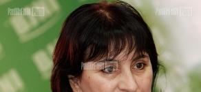 Press conference of psychologist Karine Nalchajyan