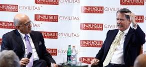 Civilitas Foundation organizes a discussion with participation of former US Ambassador to Armenia John Marshall Evans