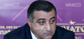Press conference of Artur Kesoyan, Anahit Grigoryan and Kolya Makaryan concerning problems of aged people