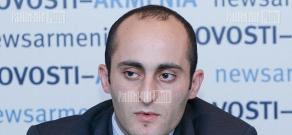 Press conference of AdNet.am company director Armen Martirosyan