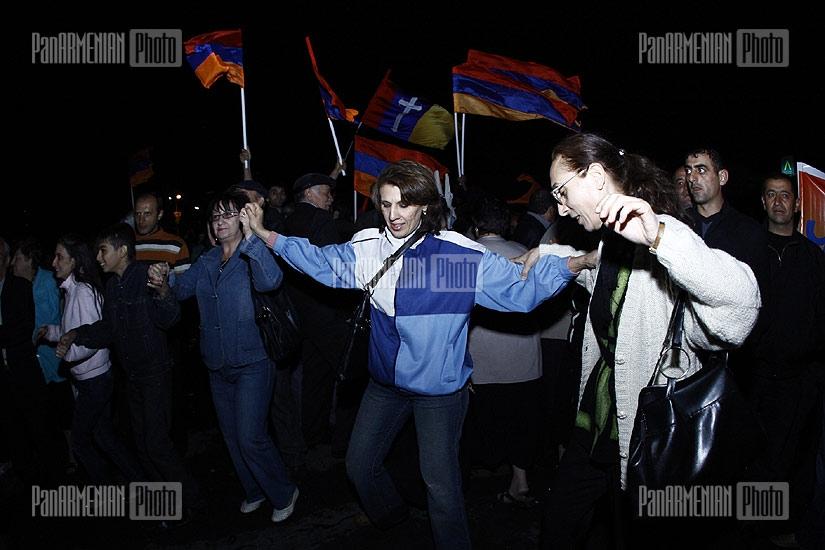 Armenian National Congress protest rally