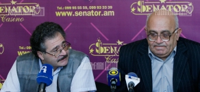 Press conference of political scientists Levon Shirinyan and Sergey Shakaryants
