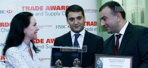 Best partner awards ceremony at HSBC bank Armenia