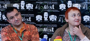 Press conference of HighFest 9 participant Bulgarian Credo theater