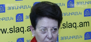 Press conference of pedagogue and Parliament member Anahit Bakhshyan dedicated to the Teacher's Day