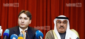 First session of Armenia-Kuwait intergovernmental committee and signing ceremony of agreements
