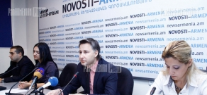 Press conference about ESWC cyber-sports international competition