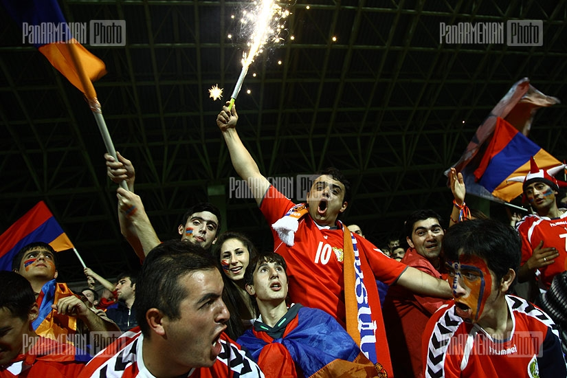 Armenia-Macedonia Euro-2012 qualifier match