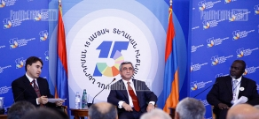 Conference and exhibition in Jermuk within the framework of RA local self-government system's investment 15th anniversary