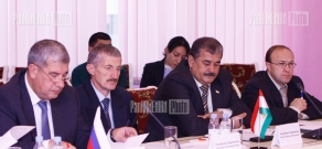 4th session and press conference of CSTO Emergency Coordination Council ‎members