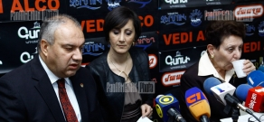 Press conference of