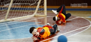 Armenian Goalball 2011 competition supported by Orange Foundation