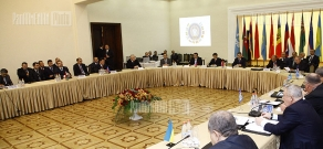 Session of CIS Interior Ministers Council in Yerevan