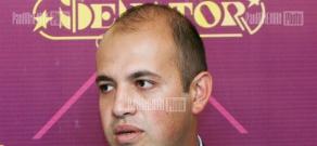 Press conference of political scientist Hrant Melik-Shahnazaryan