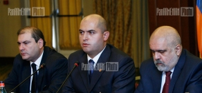 Presentation of the Armenian editions of political scientist Alfred Stepan's books