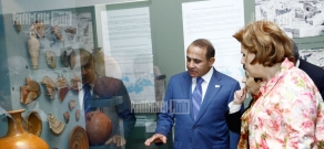 Exhibition dedicated to 2200th anniversary of capital Artashat opens in the Museum of Armenian History