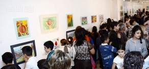 RA Ministry of Diaspora organizes an exhibition of Diaspora Armenian kids' paintnings
