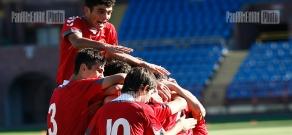 Armenia-Slovakia UEFA U19 Championship qualifier football match