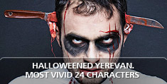 Halloweened Yerevan. Most Vivid 24 Characters