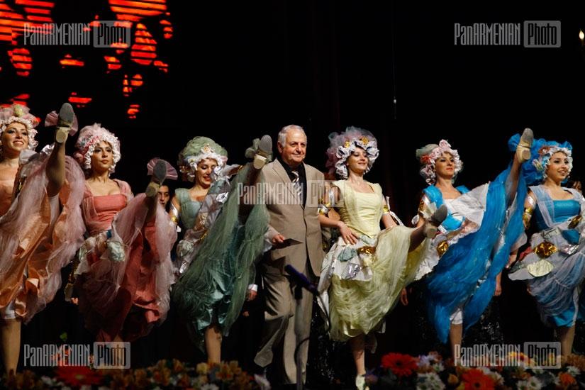 Мероприятие, посвященное юбилею известной актрисы Светланы Григорян